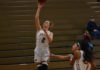 Women's team breaks out of slump with 53-point win